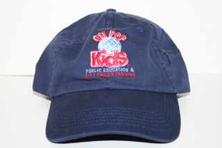 9-1-1 for Kids Globe Logo Cap (Blue)