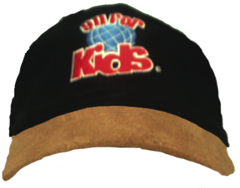 911 For Kids Globe Logo Cap