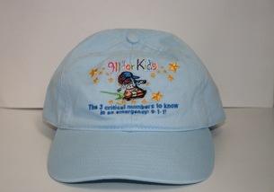 9-1-1 for Kids DJ Digital Cap
