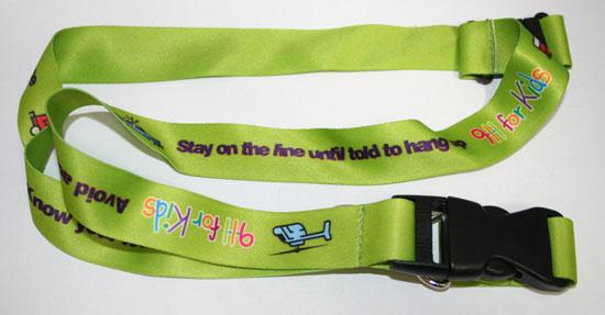 911 for Kids Lanyard