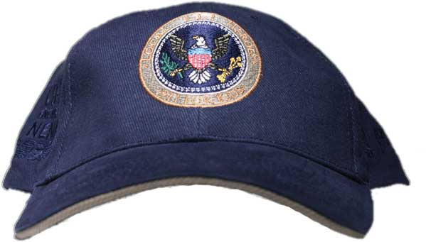 911 Hero's Navy Cap with Medal Logo