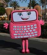 Gabby Cell Phone Sister Body Suit Walk-Around Costume