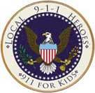 "911 Heroes Medallion 12"" Podium Sign"